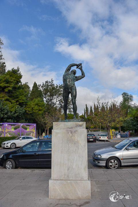 Discus Thrower Statue