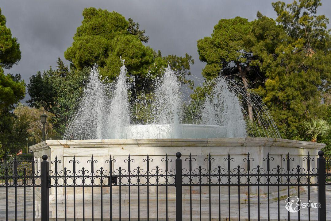 Springbrunnen am Zappeion