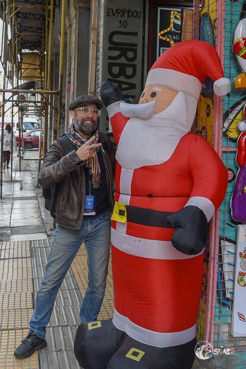 David und der Nikolaus