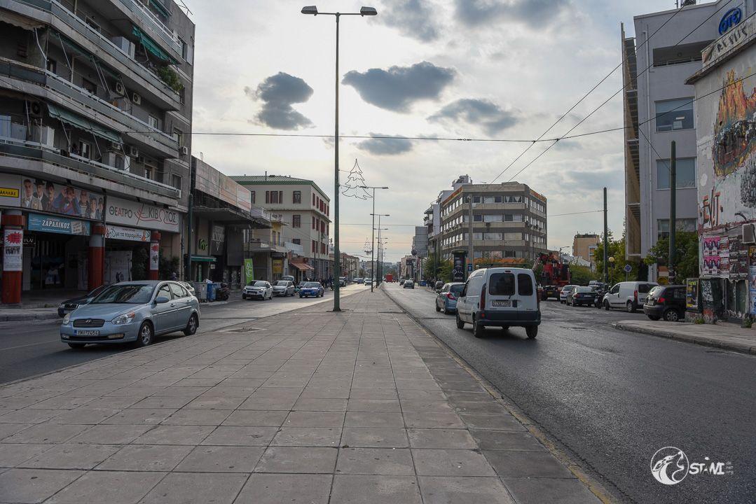 Unterwegs in Athen