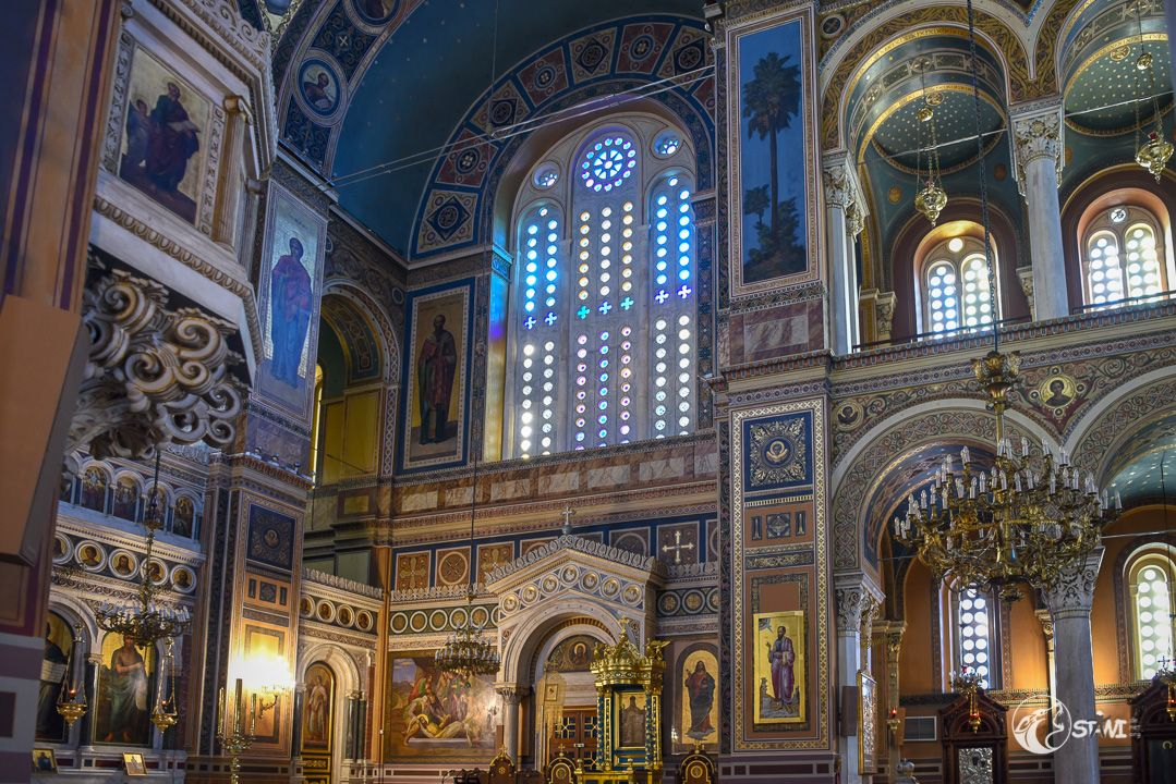 In der Metropolitan Church of Athens