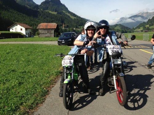 Zwei von der Alpen Gang.