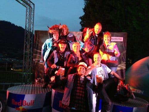 Swatch Alpen Gang 2013. Saanen / Gstaad.