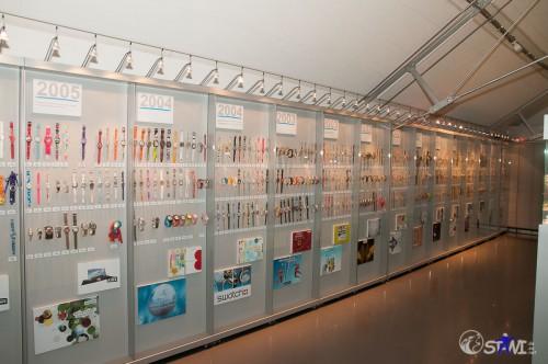 Swatch Ausstellung im Cité du Temps.