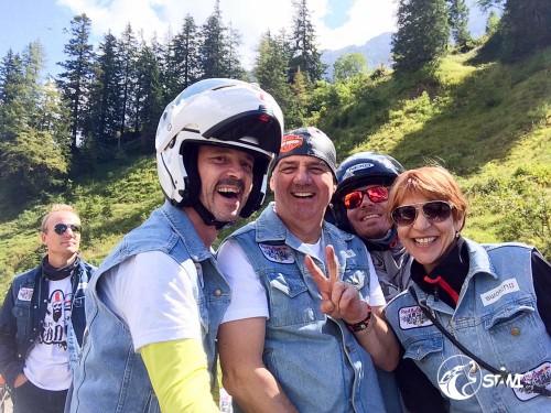 Selfie auf dem Col de Pillon.