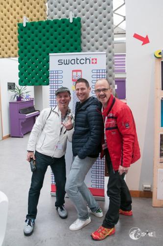 BonZai, Manuel & Stawi in Eindhoven.