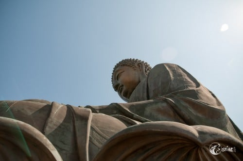 Dem Buddha ganz nah.