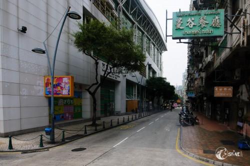 In Macau.