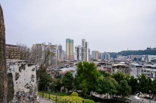 Aussicht auf Macau.