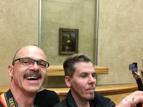 Selfie mit Mona.