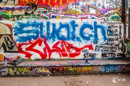 Unser Kunstwerk im Skatepark de Bercy