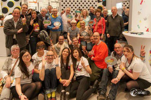 Gruppenfoto mit dem Store Team.